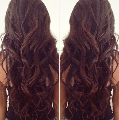 Love the length, color, and curls!