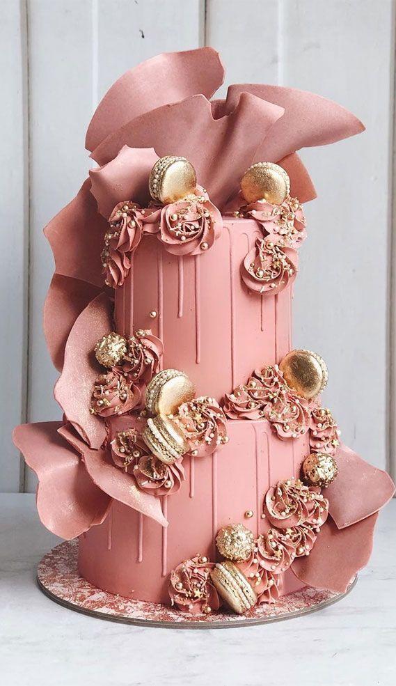 Valentine Drip Cake Tutorial - Moms & Munchkins