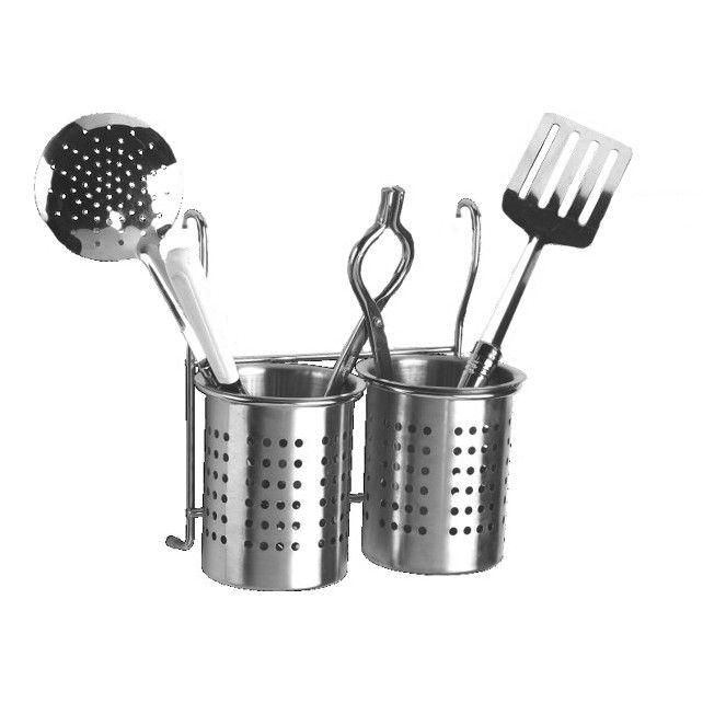 Perdiem Hanging Cutlery Drainer Stand Double for Kitchen - SS #Kitchen_Accessories_online