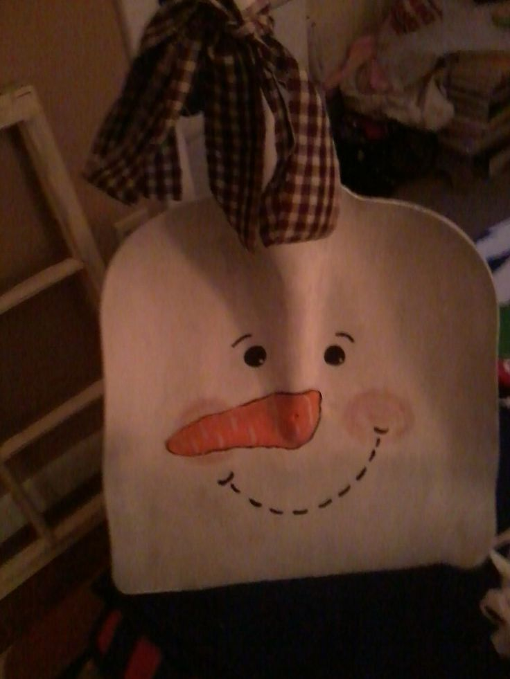 my snowman shovel