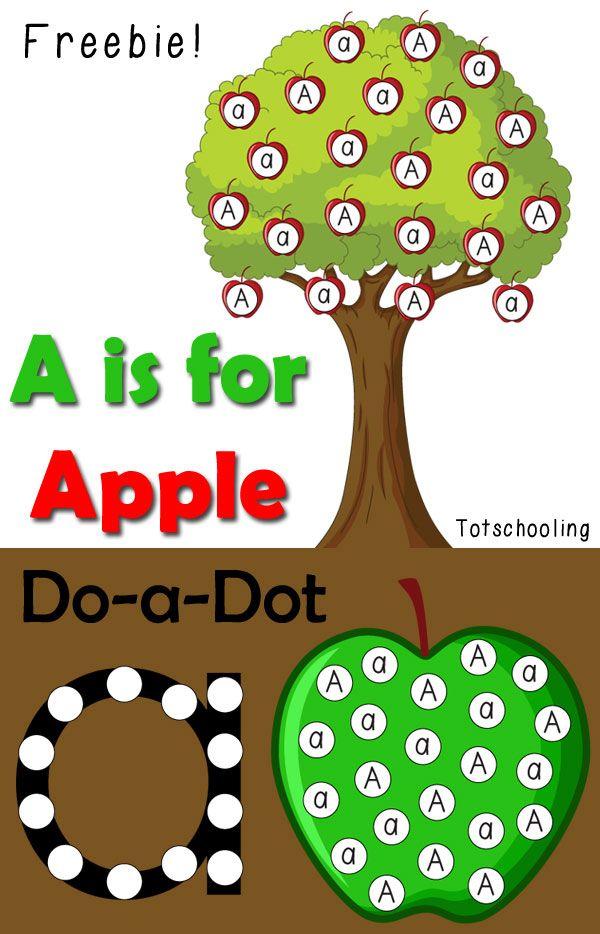 Best Dot Markers Printables Images On   Alphabet