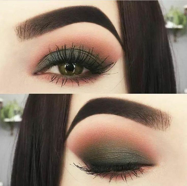 41 Perfekte Make-up-Ideen für grüne Augen