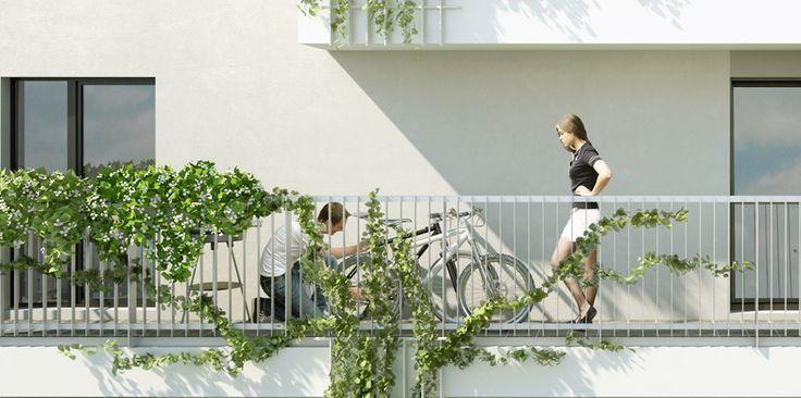 Prague : Byty Malešice  home, house, architecture, exterier