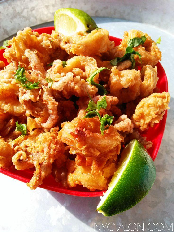 Amazing crispy Beer Battered Fried Calamari recipe!   nyctalon.com
