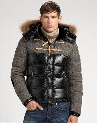 Moncler Anthime Cheap Jacket Men Single-Breasted Black
