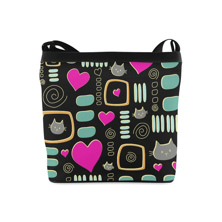 Love Cats Crossbody Bags (Model 1613)