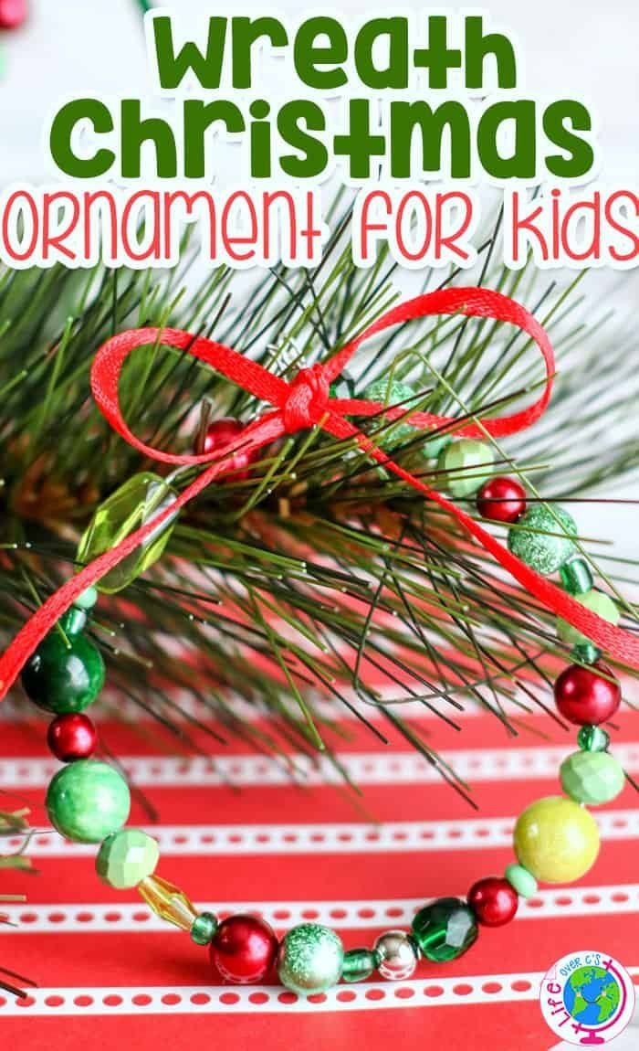 Kids Will Love Making These Simple Ornaments Christmas Beads Craft Fun Holiday Crafts Christmas Ornaments Homemade