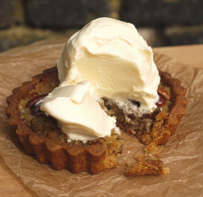 Maple, Pear & Pecan Treacle Tarts thelittleloaf