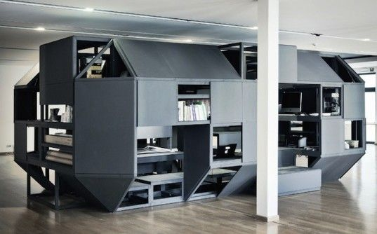 Verbandkammer is a Hulking Modular Workshop for Artists and Hackers in Belgium | Inhabitat - Sustainable Design Innovation, Eco Architecture, Green Building