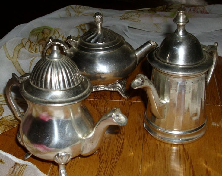 VINTAGE Set of Three (3) SILVERPLATED CREAMERS  *Nice Condition*  Tucked inside each one of them is a Little Surprise! by GraysideCottage on Etsy