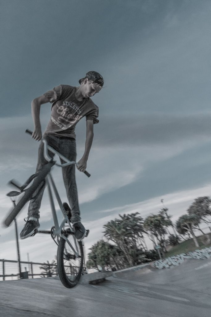 BMX BMX, an abbreviation for bicycle motocross, is a cycle sport performed on BMX bikes, either in competitive BMX racing or freestyle BMX, or else in general on- or off-road recreation. BMX began when young cyclists appropriated motocross tracks for fun, racing and stunts, eventually evolving specialized BMX bikes and competitions.