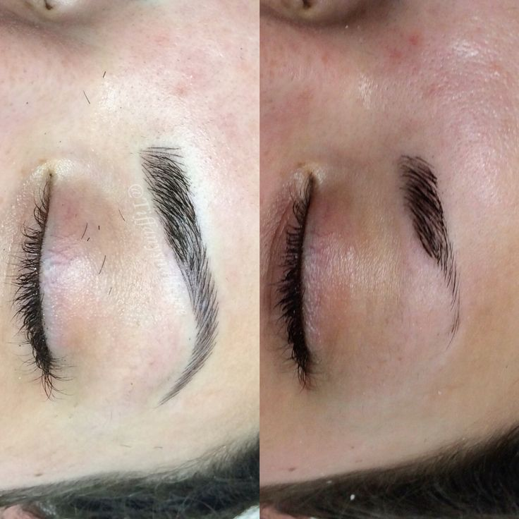 3D hair stroke eyebrow tattoo