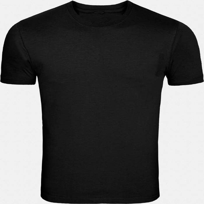 This black round necked, half-sleeved plain T-shirt gives a casual fit to you for all seasons. Wear this super-comfortable cotton T-shirt with denims and trousers or for a workout or even under a casual jacket.
