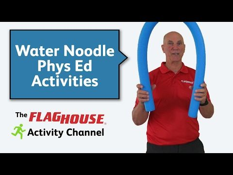 Water Noodle Activities for Phys Ed (Ep. 20 - Water Noodles) - YouTube