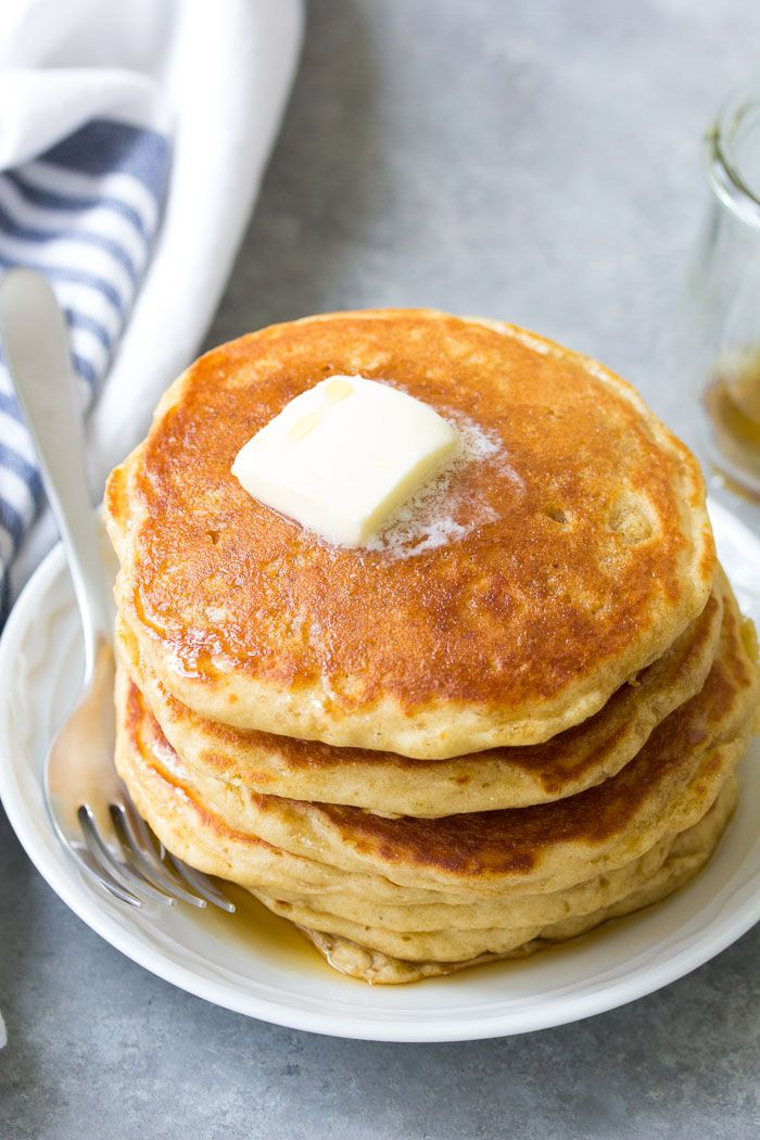 Light And Fluffy Buttermilk Pancakes With Delicious Buttermilk Flavor Tips For How To Make Pancake Recipe Buttermilk Butter Pancake Recipe Buttermilk Pancakes