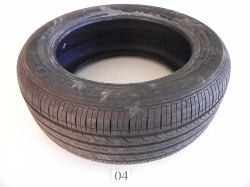 HANKOOK OPTIMO 89H 1 USED WHEEL TIRE RUBBER 205/55/16 TREAD 6MM DEPTH #04