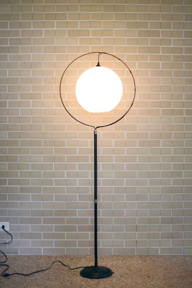 Turn A Birdcage Stand Into A Mod Floor Lamp M A K E