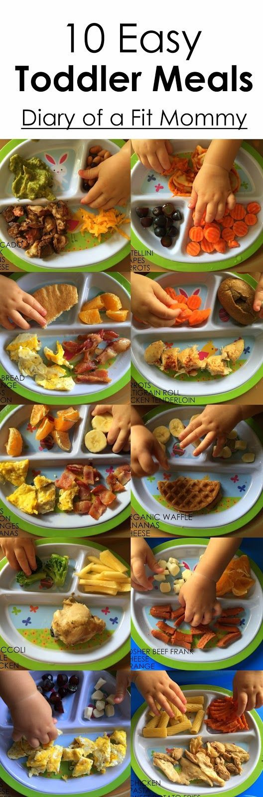 Diary of a Fit Mommy: 10 Easy Toddler Meals {Part 2}
