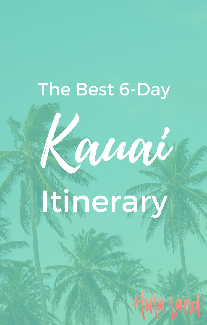 After you book airfare, accommodations, and a rental car, you can focus on squeezing in all the best things to do in Kauai!