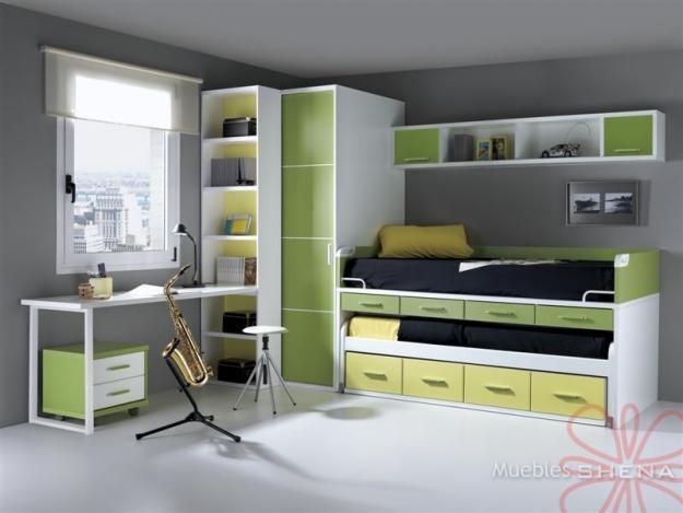 1000 images about dormitorios juveniles on pinterest - Muebles shena valencia ...