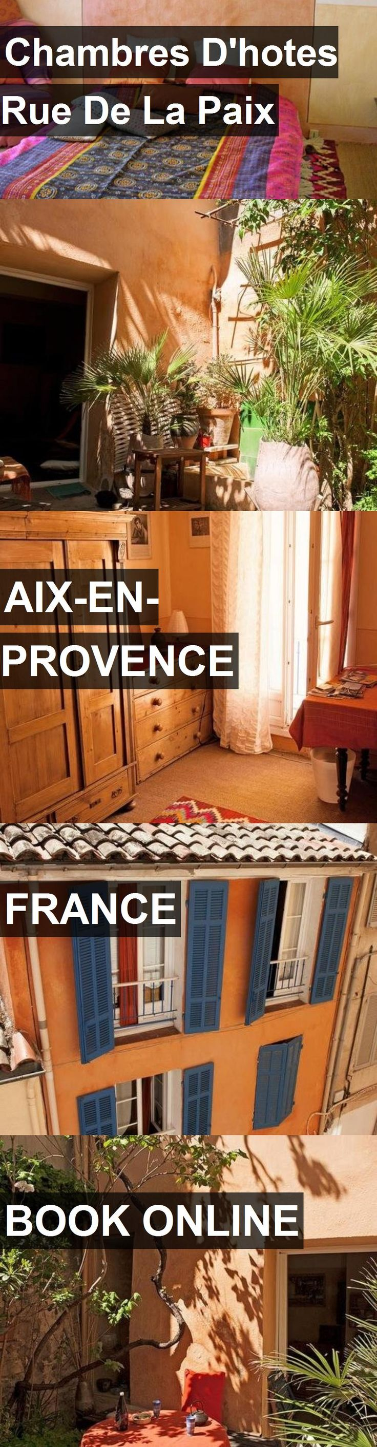 Hotel Chambres D'hotes Rue De La Paix in Aix-en-Provence, France. For more information, photos, reviews and best prices please follow the link. #France #Aix-en-Provence #ChambresD'hotesRueDeLaPaix #hotel #travel #vacation