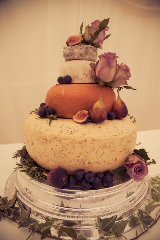 Northumberland Cheese Company Wedding Cake