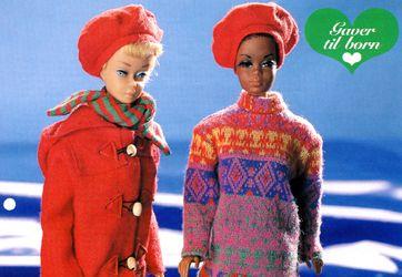 Vintertøj til Barbie - Skatkisten - Håndarbejde og strikkeopskrifter - Familie Journal