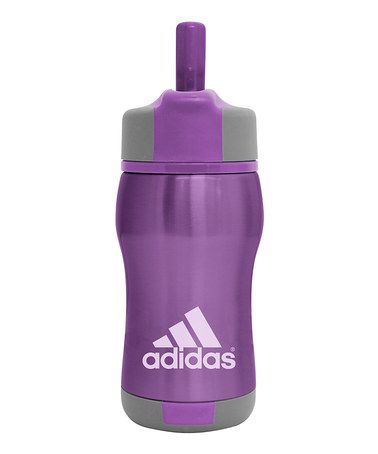 Take a look at this Purple Adidas Kids' Water Bottle - by Nathan on #zulily today! $9.99, regular 15.00