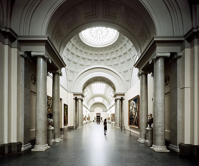 Museo del Prado, galería central/central gallery Prado museum by Turismo Madrid, via Flickr