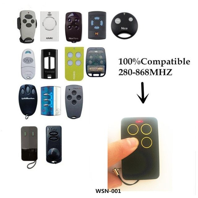 315mhz 4 Buttons Copy Cloning Duplicator Remote Control Sales Online 2 With Images Garage Door Remote Control Control Key Remote