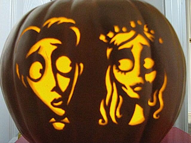 Corpse Bride Pumpkin Pattern | More pumpkins!!!