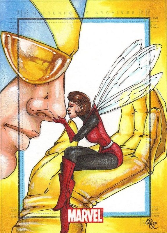 Hank Pym and the Wasp Comic Art