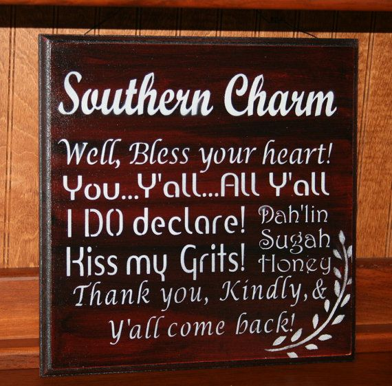 Southern Sayings  Southern Charm  Southern Phrases by NaturesGlow