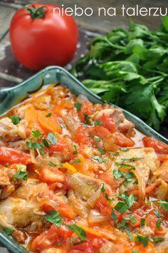 niebo na talerzu: Kurczak smażony z warzywami