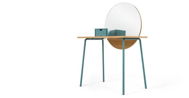 Aldo Dressing Table, Ash | made.com