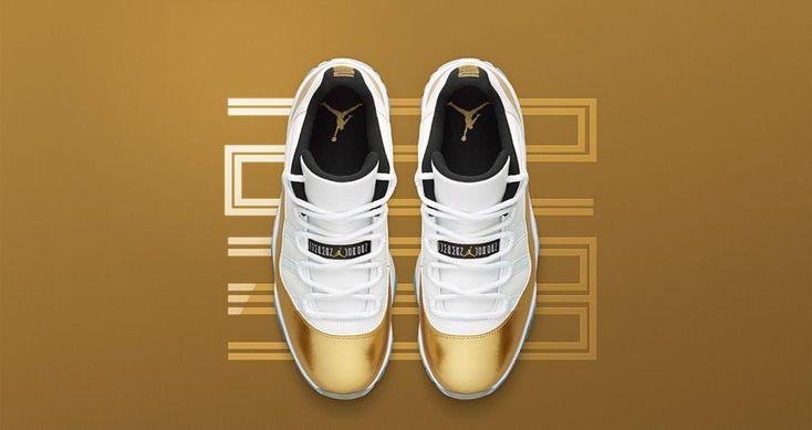 Nike Air Jordan 11 Low Metallic Gold - Releaseinfos | Dead Stock Sneakerblog