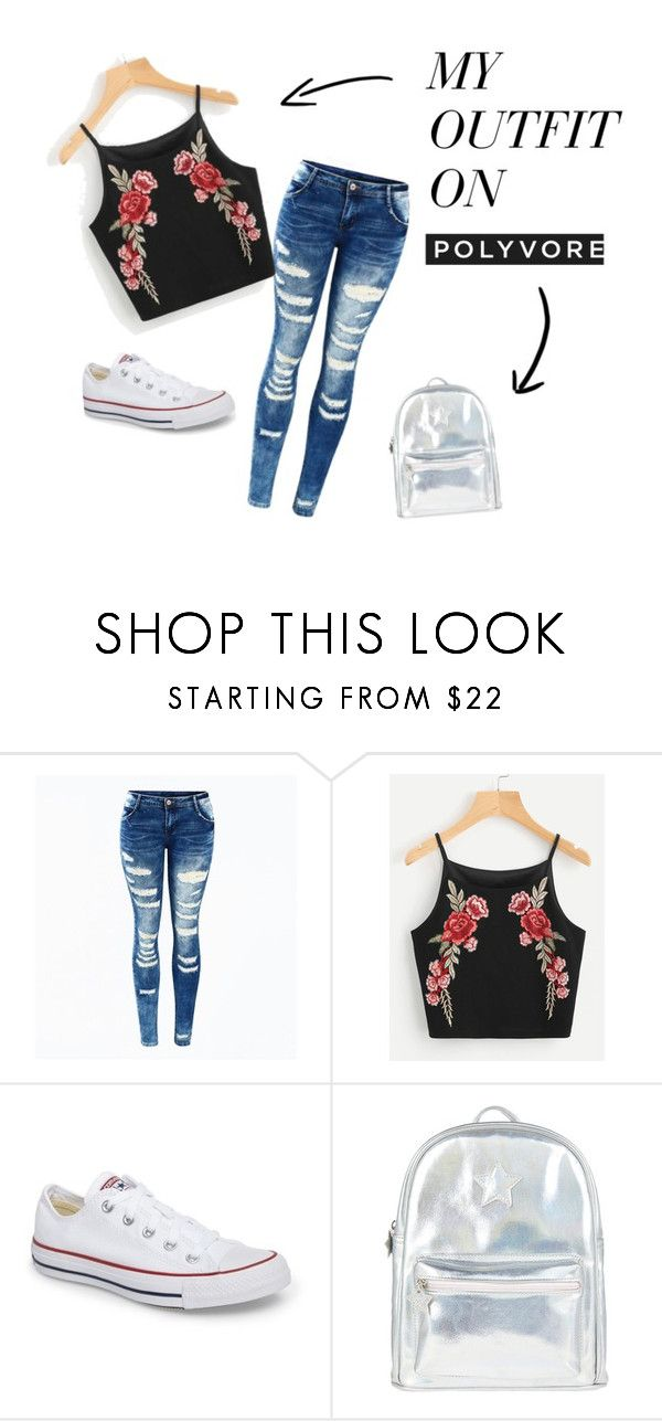 """""""HAVENT POSTED IN A WHILE!!"""" by kaiyaxdekleuver on Polyvore featuring Converse and Accessorize"""