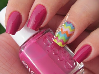 Jamberry Nails - Summer Chevron  These are awesome!  Can't wait to have a party!