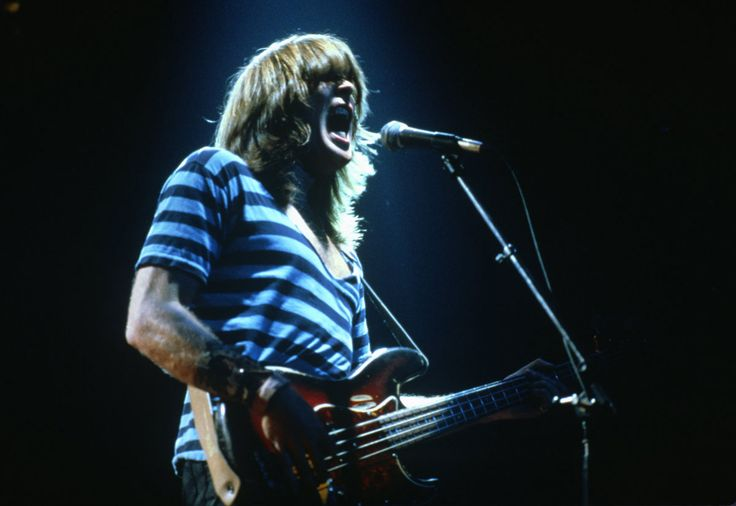 AC/DC, Cliff Williams, 1981.