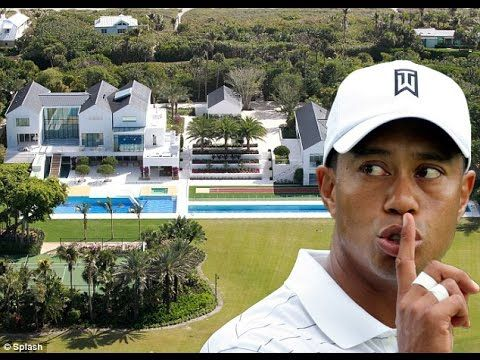 Tiger Woods | Tiger Woods House Tour-2017HD (Inside & Outside)