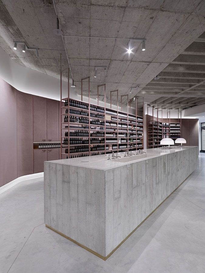 Textures And Tones Are Balanced In Stage For Aesop Products   News    Frameweb
