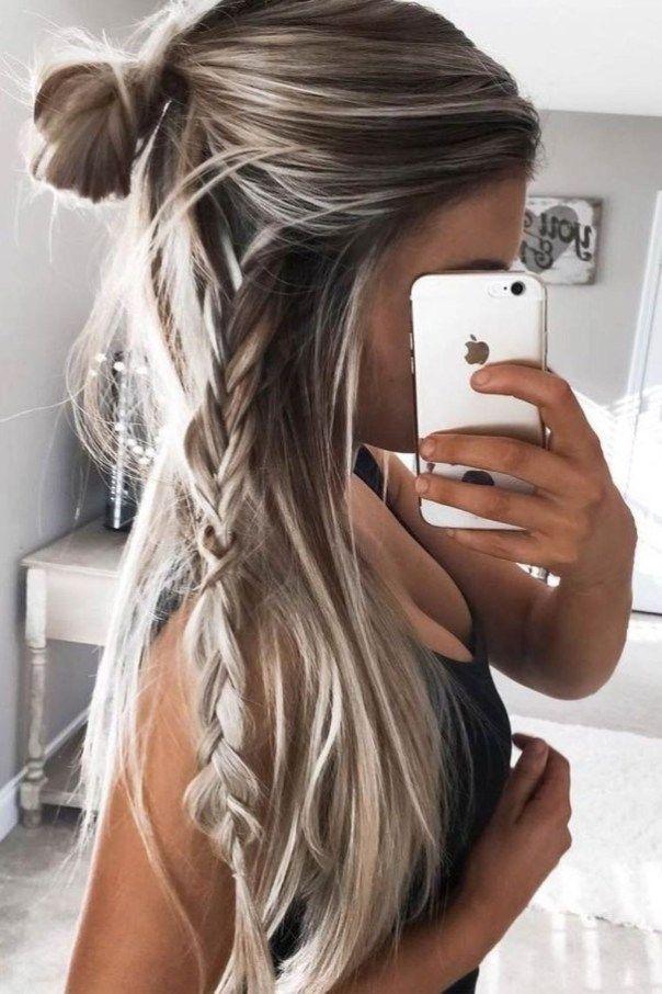 41 Schone Lange Frisur Ideen Fur Frauen Frisuren Lange Haare Langhaarfrisuren
