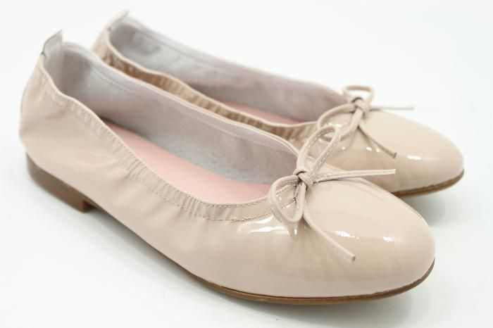 Eli ballerina beige lak..