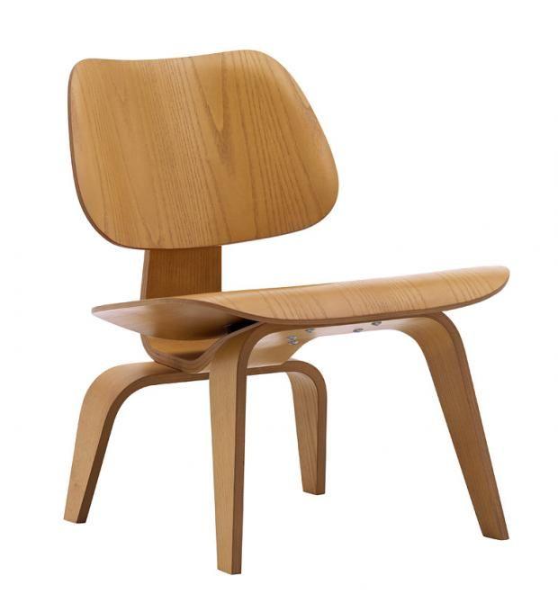 """Sessel """"LCW"""" von Ray und Charles Eames"""