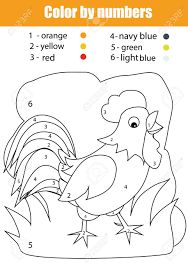 Resultado de imagen de colorear dibujos segun los numeros