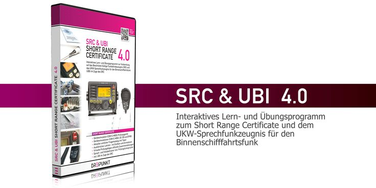 Lern- und Übungsprogramm zum Short Range Certificate und UBI-Sprechfunkzeugnis: SRC & UBI 4.0 - DREIPUNKT-VERLAG - Schulze Media GmbH