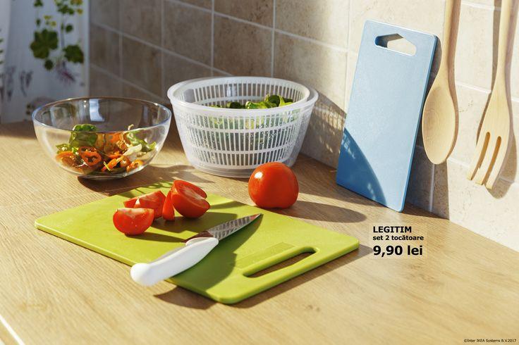 Vara și legumele proaspete au un nou prieten bun: setul de tocătoare LEGITIM.