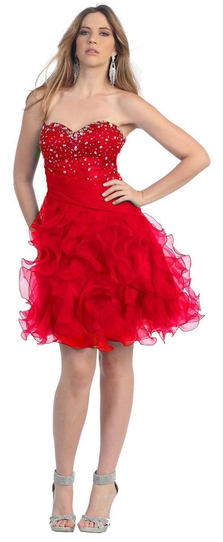 1000 ideias sobre Red Dresses For Juniors no Pinterest  Vestido ...
