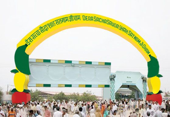 Dera Sacha Sauda is one among famous religious & best spiritual tourist places for Spiritual Tourism in India, participates in all welfare activities and provides spiritual meditation without any donation.