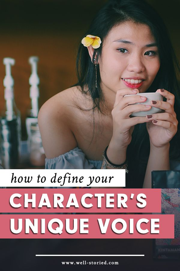 To create characters as real as the people around us, we must remember to forge for them their own unique voices. But how do you go about defining these voices? Check out this breakdown from the Well-Storied blog!